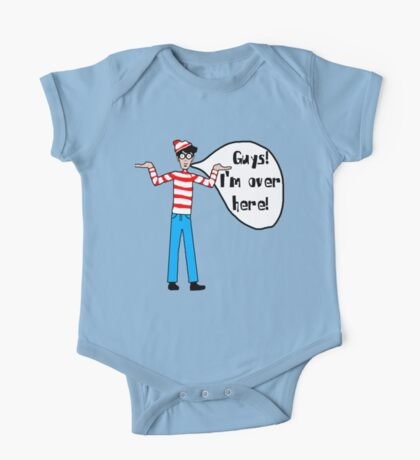 Wally's Here One Piece - Short Sleeve