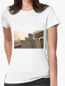 Jonesborough, Tennessee - Small Town Architecture Womens Fitted T-Shirt