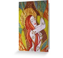 The Dryad Greeting Card