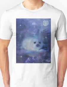 Baby Seal on Ice Unisex T-Shirt