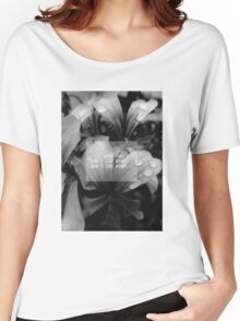 the 1975 - me lyrics flowers theme Women's Relaxed Fit T-Shirt
