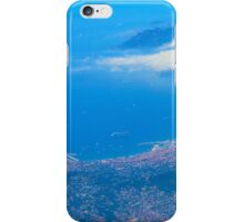 Areal view on Azure coast in Nice, France iPhone Case/Skin