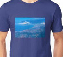 Areal view on Azure coast in Nice, France Unisex T-Shirt