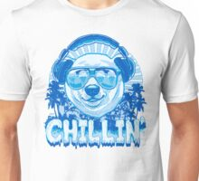 Polar Bear Chillin' to Favorite Beats Unisex T-Shirt