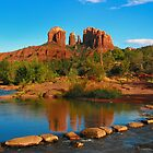 Cathedral Rock, Sedona Arizona by Lanis Rossi