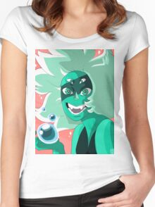 Malachite Always Wins Women's Fitted Scoop T-Shirt