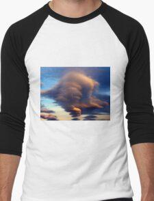 cloud Men's Baseball ¾ T-Shirt