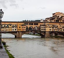 Ponte Vecchio Bridge II by Lynne Morris