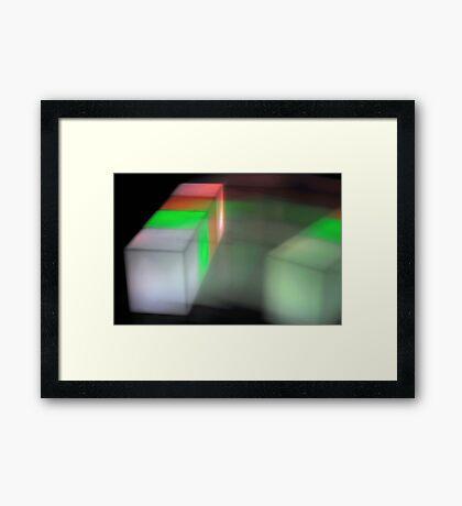 Tetris V Framed Print