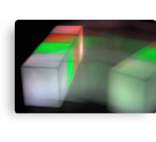 Tetris V Canvas Print
