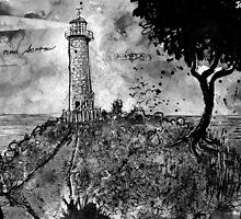 the lighthouse keepers lament by Loui  Jover