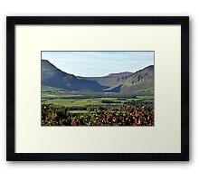 Anascaul Lake, Co. Kerry Framed Print