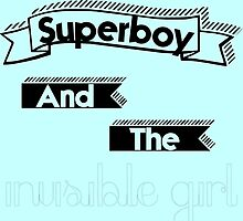 Superboy and the Invisible Girl by michelle-kassi