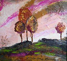 Landscape One by Jean  Gordon