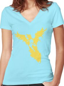 Phoenix Force Women's Fitted V-Neck T-Shirt