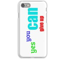 Lousy Message #2 iPhone Case/Skin