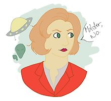 Mulder, No by uxiea