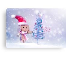 Merry Christmas Danbo II Canvas Print