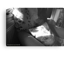 A Seat in the Sun - Cottage Interior, County Donegal. Metal Print