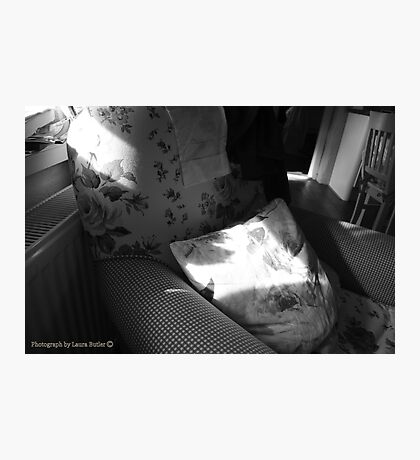 A Seat in the Sun - Cottage Interior, County Donegal. Photographic Print