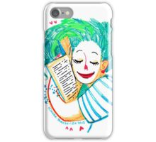 A girl who loves books iPhone Case/Skin