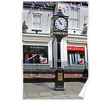 Millennium Clock, Ashbourne Poster