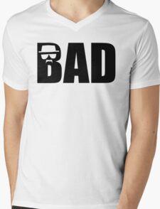 Bad - Breaking Bad Heisenberg Mens V-Neck T-Shirt