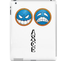 ONE PIECE - Ace Smiley Hat iPad Case/Skin
