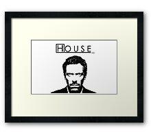 House M.D. Framed Print
