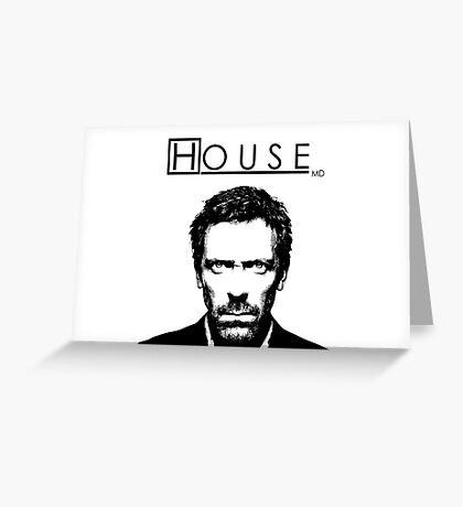 House M.D. Greeting Card