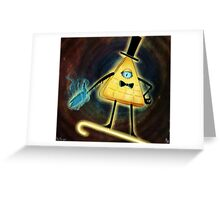 Bill Cipher - Let's Make A Deal Greeting Card