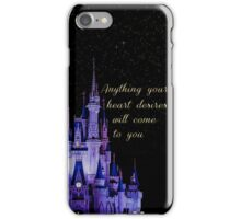 Anything your heart desires iPhone Case/Skin