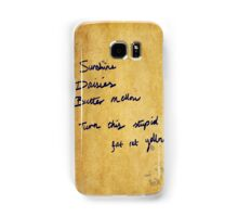 Fat rat yellow Samsung Galaxy Case/Skin