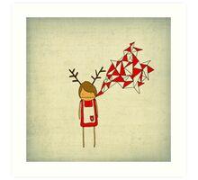 Christmas Excitement Art Print
