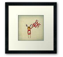 Christmas Excitement Framed Print