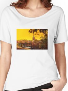 Golden Sunset over Saint Tropez - The French Riviera Women's Relaxed Fit T-Shirt
