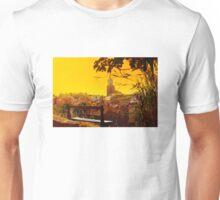Golden Sunset over Saint Tropez - The French Riviera Unisex T-Shirt