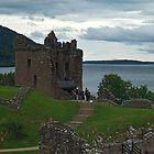 Urquhart Castle & Loch Ness by WatscapePhoto