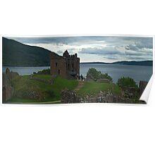 Urquhart Castle & Loch Ness Poster