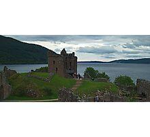 Urquhart Castle & Loch Ness Photographic Print