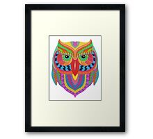 Owl Abstract Framed Print