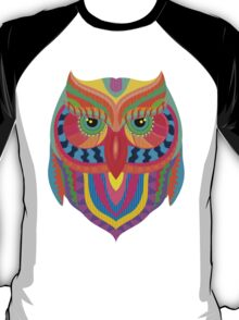 Owl Abstract T-Shirt