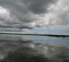Storm clouds,American River,Kangaroo Island,S.A. by elphonline