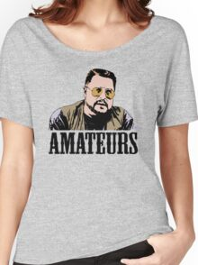 The Big Lebowski Walter Sobchak Amateurs Color T-Shirt Women's Relaxed Fit T-Shirt