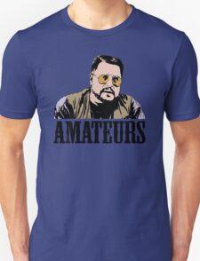 The Big Lebowski Walter Sobchak Amateurs Color T-Shirt T-Shirt