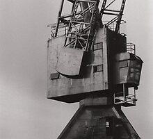 Cockatoo Island Crane by mevagh