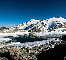 Tranquil Lake by KristinNelso