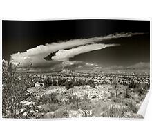 Madrid Clouds Poster