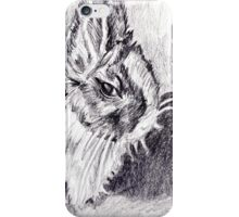 Scraggly Bunny iPhone Case/Skin