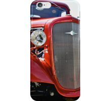 Red Custom Chevy Truck iPhone Case/Skin